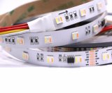 5050 60IC digital LED Rgbww cambia de color 5 TIRA DE LEDS