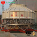 Torre di raffreddamento di flusso del contatore di temperatura standard di figura rotonda per industria