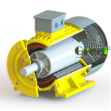 10kw 150rpm magnetischer Generator, 3 Phase Wechselstrom-permanenter magnetischer Generator, Wind-Wasser-Gebrauch mit niedriger U/Min