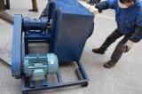Polvere del riscaldamento di gas che cura forno con il carrello