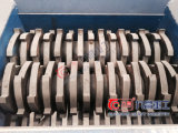 Alliage d'aluminium écrasant le défibreur déchiqueté d'arbre de double de machine