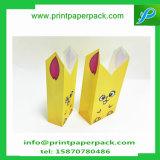 特有な印刷キャンデーのペーパー甘い好意のクラフトの紙袋の漫画は記憶袋を袋に入れる
