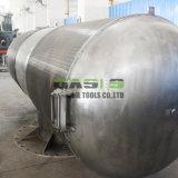 Acero inoxidable del duplex industrial del filtro del surtidor de China 2205 filtros del receptor de papel de agua del alambre de V