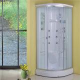 Banheiro quente da venda que desliza em volta da cabine elétrica do chuveiro para a venda