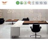 L офисная мебель l форменный 0Nисполнительный высокого качества стола самомоднейшая президент Стол формы деревянный