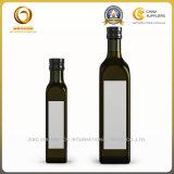 Темно - бутылка оливкового масла зеленого цвета 500ml на сбываниях (1211)