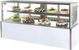Vetrina della torta del forno di raffreddamento ad aria di stile giapponese