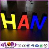 LED 에폭시 수지와 아크릴 점화 편지 표시