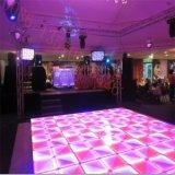 Azulejo portable del baile del banquete de boda LED Dance Floor DMX RGB