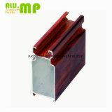Profil en aluminium Windows coulissant des graines en bois chaudes de vente