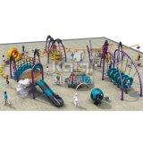 Kaiqi子供の遊園地(KQ60134A)のための上昇シリーズ屋外の運動場