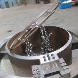 Вырезывание электрической трубы холодное и скашивая машина