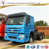 Vrachtwagen van de Tractor van het Type 371HP van Vrachtwagen van de Aanhangwagen van de Wielen van Sinotruk HOWO de Nieuwe 10 6X4 Op zwaar werk berekende voor Verkoop