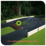UHMWPE 임시 지상 보안 시스템 매트 HDPE 접근 잔디밭