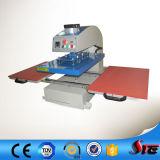 Máquina doble neumática automática de la prensa del calor de la camiseta de la estación