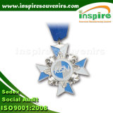 Médaille personnalisée en métal pour la récompense de sport, cadeau de souvenir