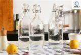 Горячее качество еды 1L надувательства освобождает стеклянную бутылку сока напитка с крышкой запечатывания