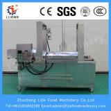 China Automática industrial em aço inoxidável eficaz máquina de fritura de cebola contínua