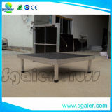 2*1m Wooden Stage, Mobile Stage, Modualr Stage, Adjustale Legs를 가진 Aluminum Stage