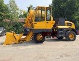 Caminhão hidráulico do misturador concreto do funil da carga do auto com saída da capacidade do medidor de 1.5 cubos