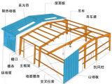 큰 경간 강철 구조물 제조 작업장