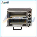 Ep2PT Doubles Deck Electric Pizza Bakery Oven with Timer for Food Machinery