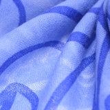 Sciarpa stampata lane merino di modo 100% (14-BRS310202-1)