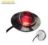 Indicatori luminosi subacquei caldi della fontana della piscina dell'acciaio inossidabile LED di vendita IP68 RGB della PANNOCCHIA