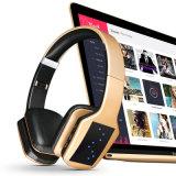 Складные функцией усиления низких частот беспроводной технологией Bluetooth наушников с микрофоном