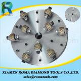 Outils de meulage de diamant pour Bush Hammer Romatools des roues