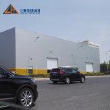 La estructura de acero barata Q345 vertió el almacén industrial