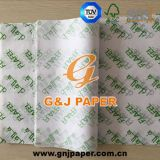 unbeschichtete Zwischenlage-verpackenpapier des Drucken-17-23GSM für Großverkauf
