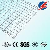 Bandeja de cable certificada RoHS galvanizada del acoplamiento de alambre del SGS