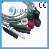 Holter 7 отведений с защелкой Leadwires