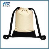 カスタムキャンバスのドローストリング袋の綿のハンド・バッグ