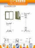 Portello scorrevole di alluminio della singola guida di prezzo base del fornitore di Dali