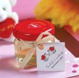 空のガラス食糧記憶の瓶の蜂蜜の瓶のガラス込み合いの瓶