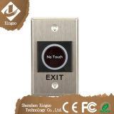 No/COM Tür-Entriegelung, Finger-Noten-Edelstahl-Tür-Freigabe-Druckknopf-Ausgangs-Druckknopf