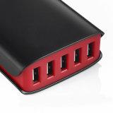 Семейств-Определенный размер заряжатель стены USB зарядной станции 5 Port