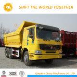 HOWO 6X4 팁 주는 사람 25 톤 덤프 트럭 (ZZ3257N3847A)