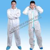 熱い販売の非編まれたつなぎ服の働くつなぎ服の保護つなぎ服