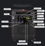 5kw 중국에 있는 싸게 침묵하는 휴대용 가솔린 변환장치 발전기 가격