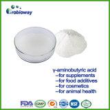 Ácido aminobutírico gamma excelente de la calidad GABA para los aditivos alimenticios de Supplemts