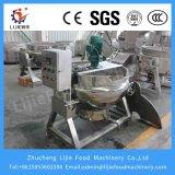 Potenciômetro do fogão do misturador da mistura do açúcar do atolamento do xarope do molho do vapor da caldeira