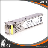Kompatible 1000Base-BX 1550nm Tx/1310nm Rx 20km SFP BIDI optische Baugruppe mit DDM