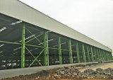 Edificio de acero prefabricado de la fábrica de acero del almacén de la venta caliente