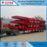 13000*3000+500*1300mm  Laag Jongen/Dek Lowboy/Lowbed/Low/de Lage Semi Aanhangwagen van het Bed met ZijUitbreidingen