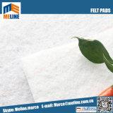 Promotion ! L'aiguille de polyester blanc perforé feutrine pour matelas de remplissage