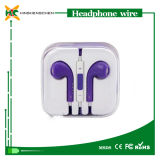 Fone de ouvido com Mic, Headphone Wholesale -Ear em Earphone para o iPhone 4 4s 5 5c 5s 6 6s Todo Models