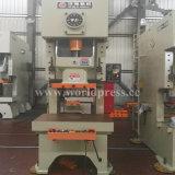 Jh21 máquina aluída da imprensa de perfurador mecânico do frame da série C única com uma potência de 315 toneladas